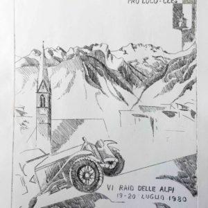1980 VI Raid delle alpi