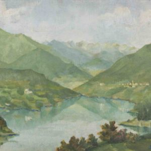 Lago di Santa Giustina 1959