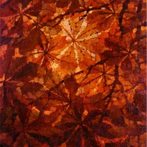 Luce tra le foglie di ippocastano 1975 80x60