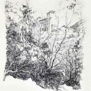 Castel Cles 1985 - pennarello