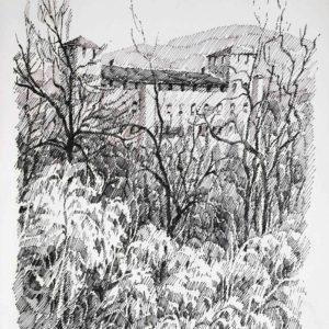Castel Cles 1987 - pennarello