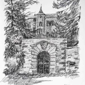 Castel Thun 1987 - pennarello