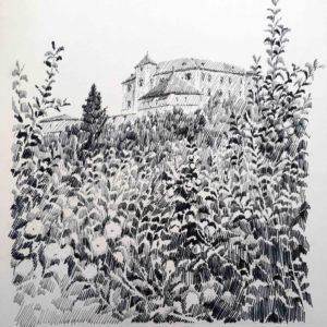 Castel Thun 1984 - pennarello