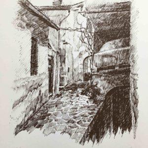El forn e el pont del Pancheri 1987