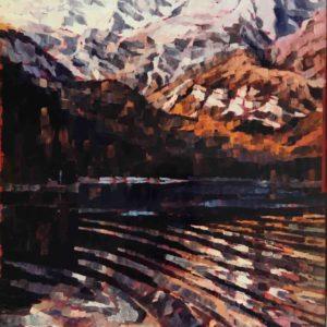 Lago di tovel 1984 60x80