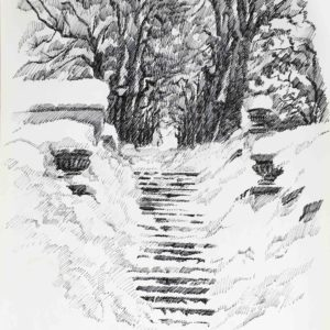 Le scalette del Dos di Pez 1987 - pennarello