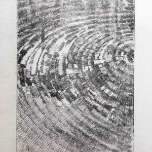 Senza titolo (onde concentriche) - I° prova di stampa