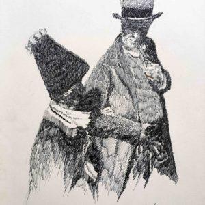 Senza titolo 1986 - disegno a penna