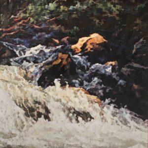 Sinfonia di acque 1990 120x100