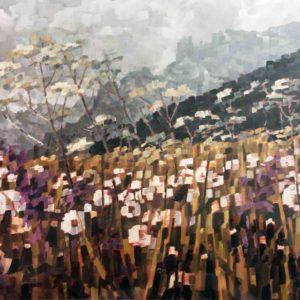 Terra di fiori e cime 1981 100x80
