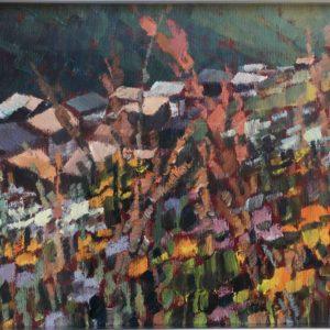 Tetti e fiori 1989 20x30