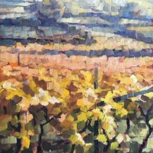 Vigne d'autunno 1991 40x30